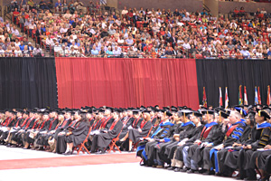 Texas Tech will host five commencement exercises this weekend to officially wrap up the fall semester.