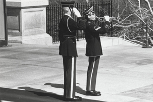 As a member of The U.S. Army Ceremonial Band, Seipp also played numerous times at wreath laying ceremonies at the Tomb of the Unknown Soldier and funerals at Arlington National Cemetery.