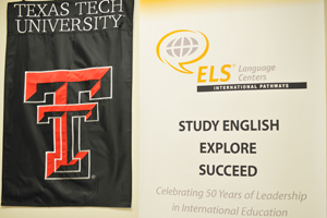 The partnership between Texas Tech and ELS should help increase enrollment among international students.