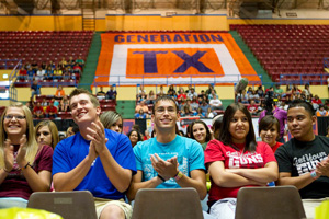 GenTXperts will meet with high school students and their families starting Feb. 9 (Saturday) from 9 a.m. to noon.