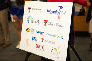 The grant includes Texas Tech, LISD and many Lubbock community partners.