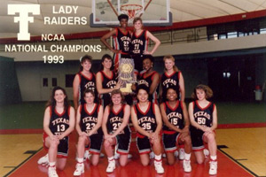 The 1993 national champion Lady Raiders won their last 19 games of the season.