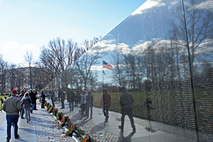 The Education Center at The Wall will be constructed on the grounds of the Vietnam Veterans and Lincoln Memorials.