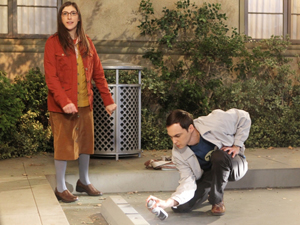 Mayim Bialik plays Amy Farrah Fowler, the boyfriend of  Sheldon Cooper, played by Jim Parsons, on the show