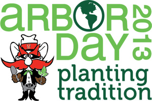 Arbor Day features Texas Tech students, faculty and staff helping to beautify the campus and highlight student organizations.
