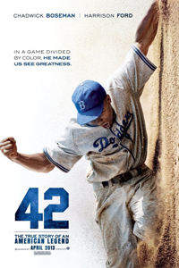 Biopic about Jackie Robinson, the first African-American to play in Major League Baseball.