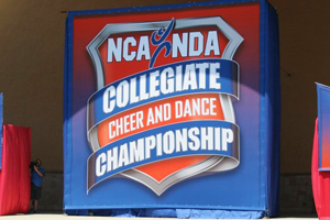 The national competitions for both the cheerleaders and pom squad will take place in Daytona Beach, Fla.