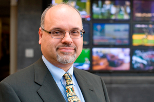 David D. Perlmutter, new dean of the College of Media and Communication.