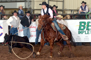 Carley Richardson will compete in barrel racing.