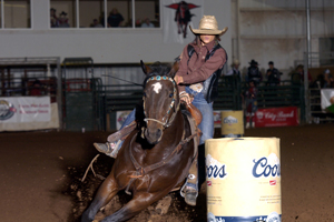Shelby Janssen will compete in the barrel racing event.