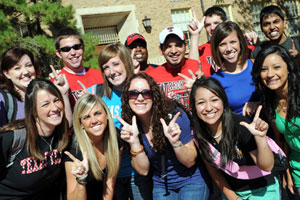 New Texas Tech students who attend Red Raider Orientation experience campus in many ways.