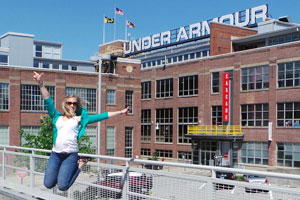 Student Spotlight: Intern Joins the Under Armour Team | July | 2013