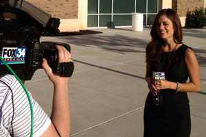 Nicole Garza reporting for Fox34.