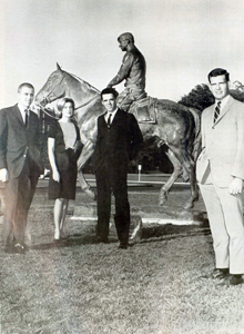Hance, far left, graduated from Texas Tech in 1965 with a bachelor's degree in business administration.
