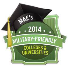 MAE Military Friendly 2014.