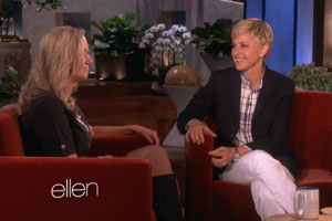 Marty with Ellen