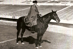 The late Joe Kirk Fulton was the first Masked Rider and is credited with helping start the tradition.