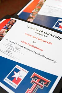 Texas Tech Kicks Off 21st State Employee Charitable Campaign