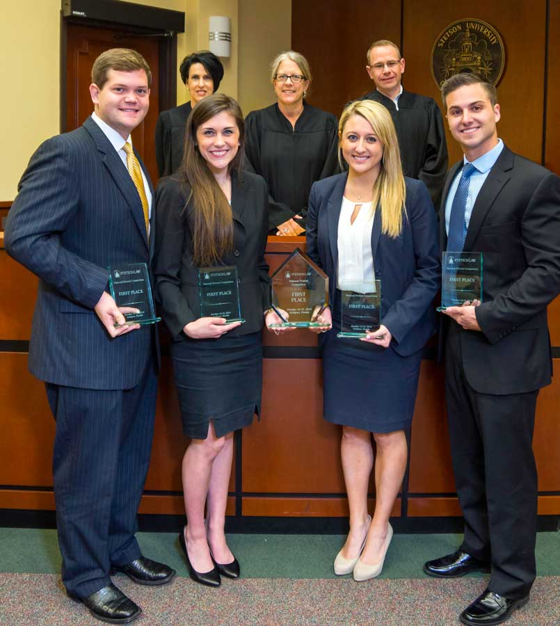 National Pretrial Advocacy Competition Champs