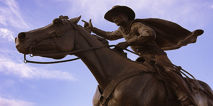 Statues Capture Spirit of Masked Rider Tradition
