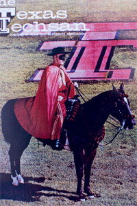 Johnny Bob Carruth served as the Masked Rider from 1968-1970.