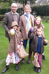 Katie Carruth now lives in Gloucestershire, England, with her husband and three children.