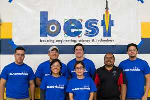 Many Texas Tech engineering students serve as mentors for West Texas BEST students.