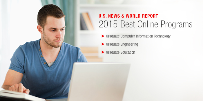 Online Programs Ranked by U.S. News and World Report