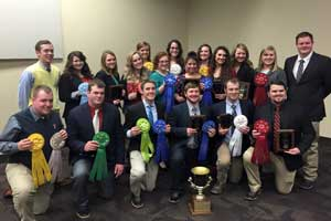 Texas Tech University Meat Judging Team