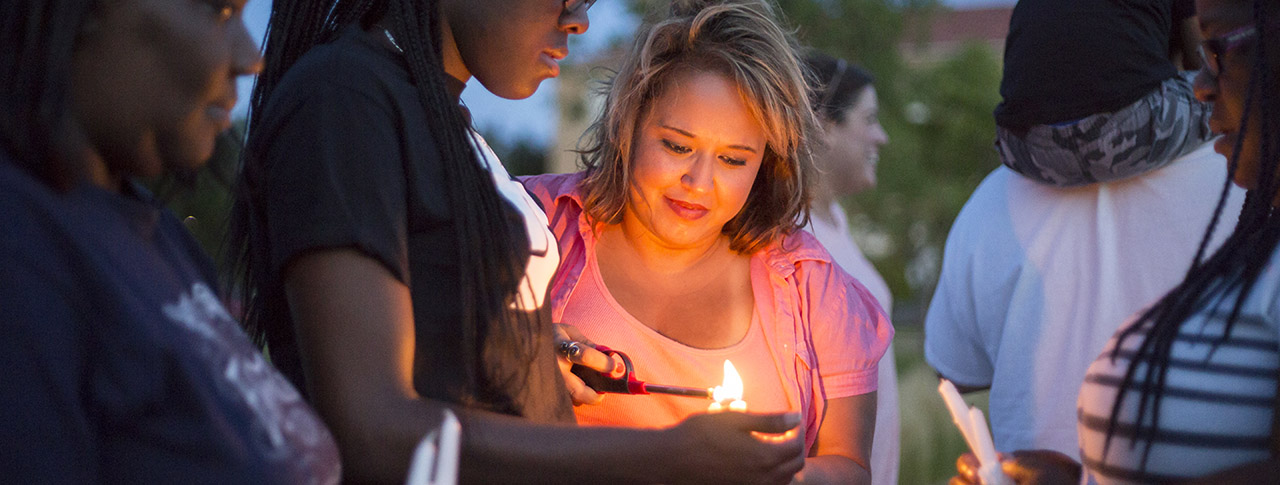 Texas Tech, Lubbock Community Show Support for Charleston