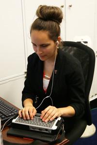 Melero typing