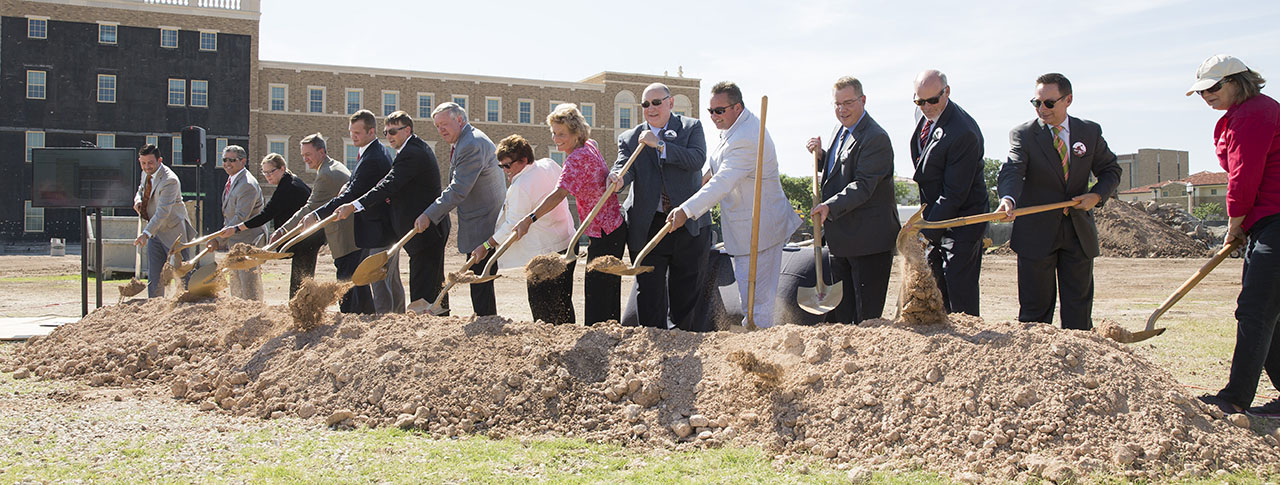 Rawls College of Business Breaks Ground on Phase II of Building