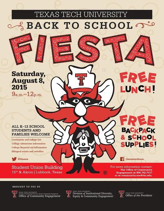 Back to School Fiesta