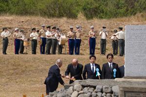 Pasewark at Iwo Jima
