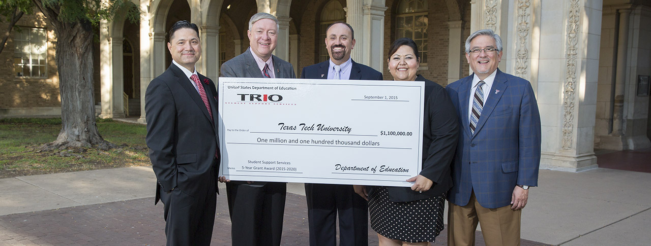 Texas Tech Granted $1.1 Million for Student Support Services Program