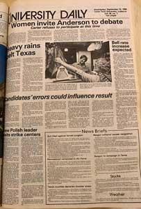 1980s University Daily