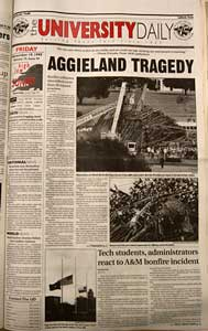 1999 Aggie Bonfire Tragedy