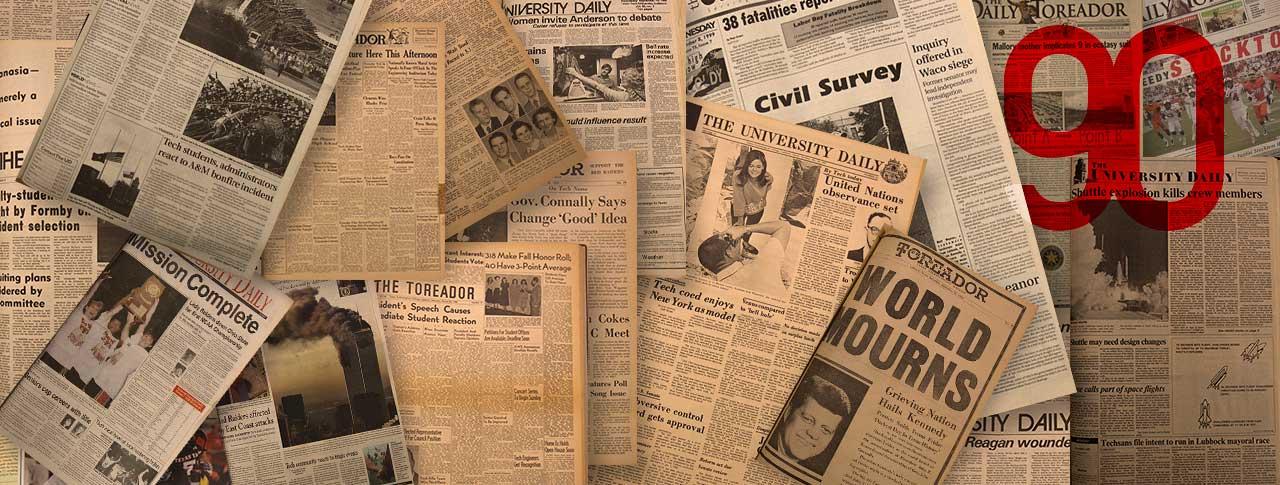 The Daily Toreador Celebrates 90th Anniversary