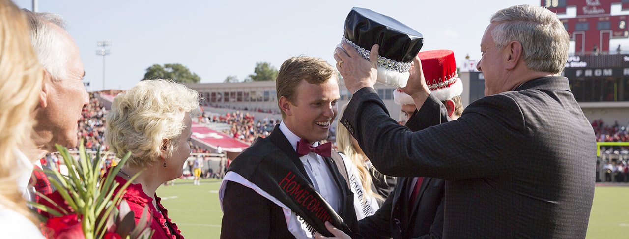 Texas Tech Crowns 2015 Homecoming King and Queen