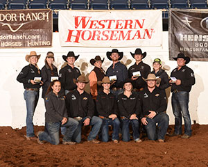Texas Tech University Ranch Horse Team