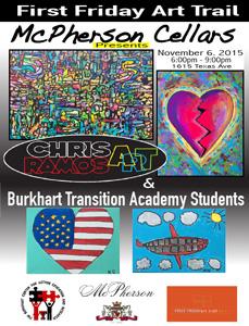 Burkhart First Friday Art Trail November 2015