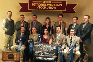 2016 Livestock Judging Team Denver