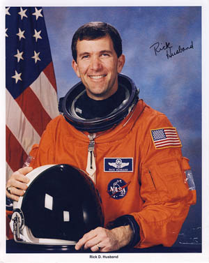 Rick Husband's official NASA photo.