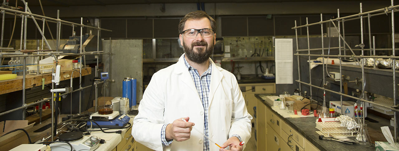 Researcher Wins National Science Foundation CAREER Grant