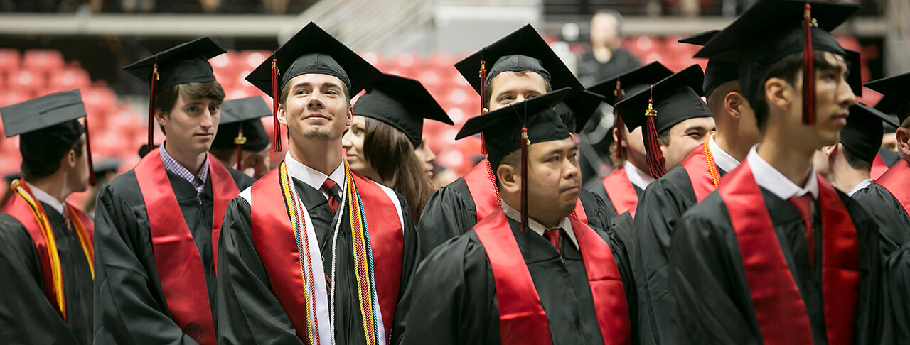 Students Participate in Spring Commencement