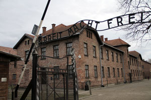 Gate at Auschwitz