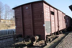 Train car at Radegast near Wodz