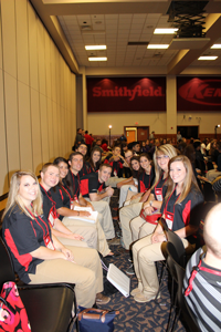 Meat Science Quiz Bowl Students