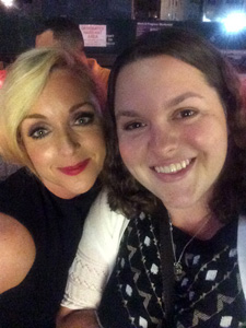 Brook Barrett with Jane Krakowski
