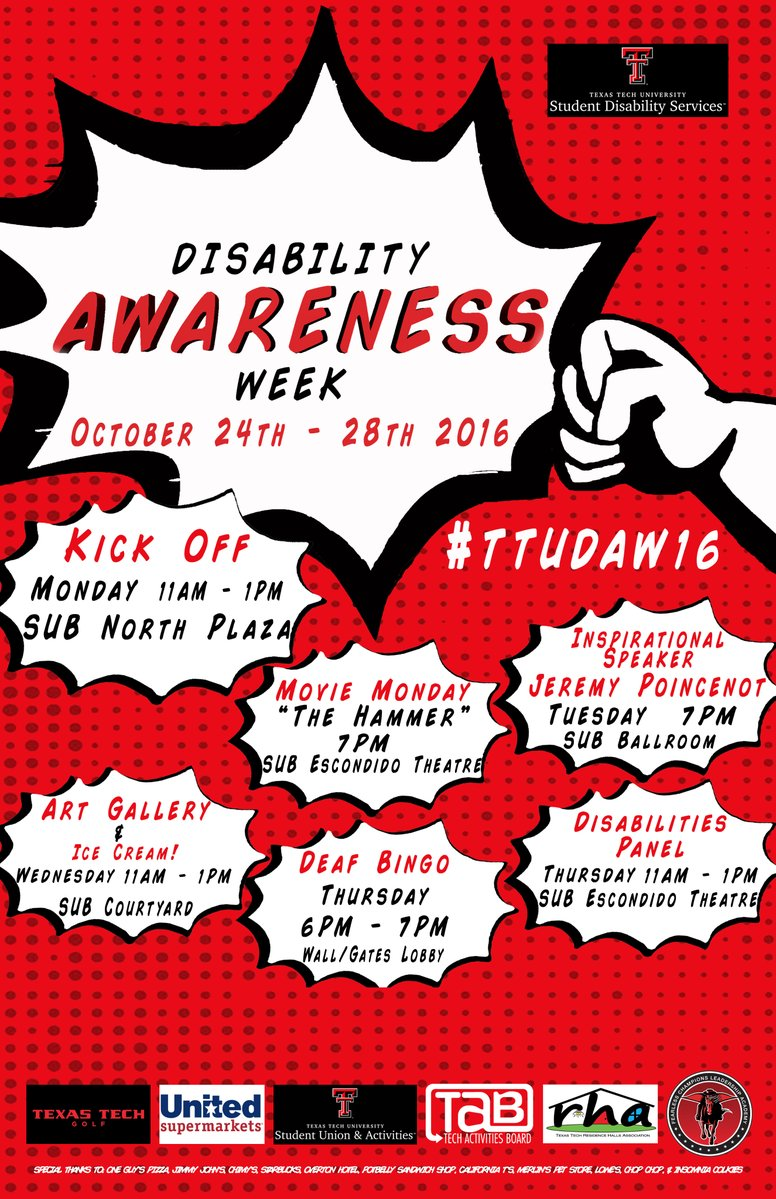 Disability Awareness Week